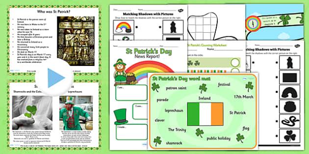 St Patricks Day Teaching Pack - planning, plan, teach, celebrate