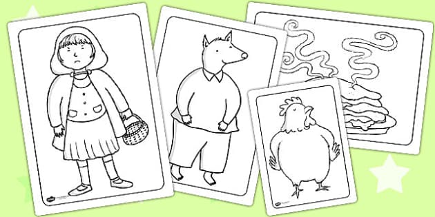 Colouring Sheets to Support Teaching on Mr Wolf's Pancakes - mr Wolf's pancakes, colour