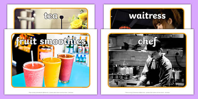 Healthy Eating Cafe Role Play Photos - healthy eating caf