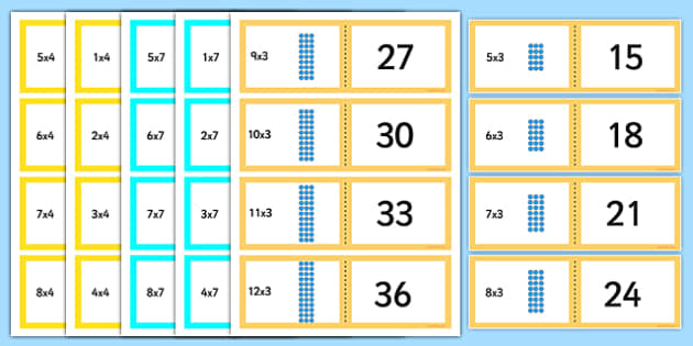 Times Tables Games Primary Resources - multiply - Page 2