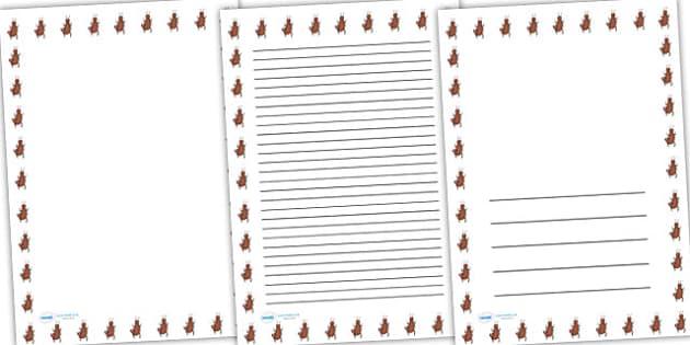 Earwig Full Page Borders - page borders, earwig page borders, earwig border for page, earwig, minibeast page borders, A4, border for page, lined pages