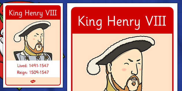 King Henry VIII Fact Poster - king henry viii, tudors, fact, poster, display, history