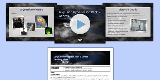 Jekyll and Hyde Lesson Pack 2: Genres (post reading) - genres, jekyll, heyde, lesson, pack