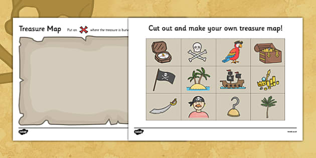 Pirates Primary Resources, role play, pirate - Page 1