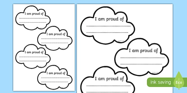 Proud Cloud Display Pack Proud Cloud Template - proud cloud, display pack