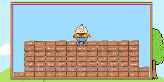 Ready Made Humpty Wall Keyword Display Pack - ready made, display
