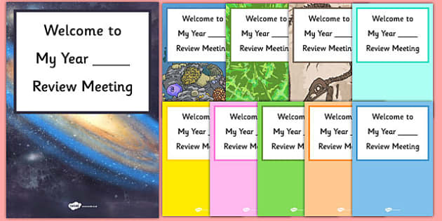 Welcome to My Review Meeting Poster - welcome, review meeting, poster, display, welcome to, review, meeting