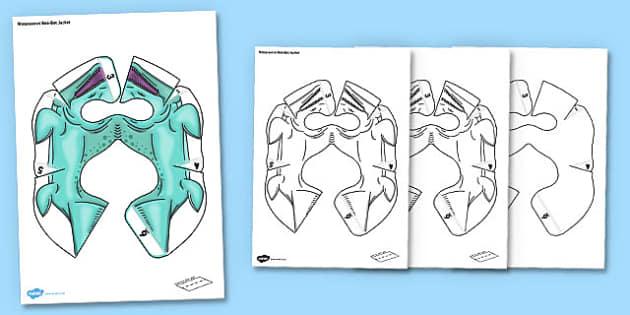 Mosasaurus Bee Bot Jacket - mosasaurus, beebot, bee bot, bee-bot, jacket