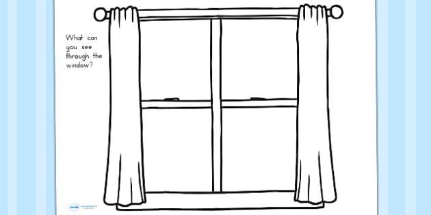 how to draw google window