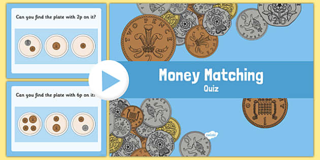 Money Matching Activity Up To 10p - money, money matching, matching activity, matching game, 0-10, up to 10p, pence, matching coins, coins, numeracy