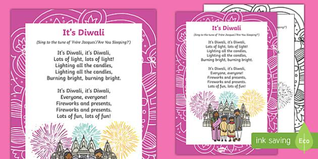 It's Diwali Song