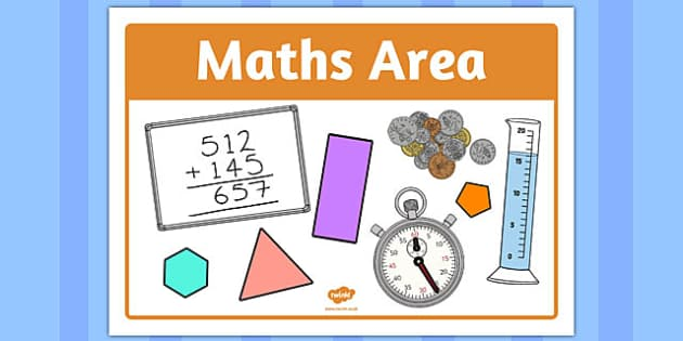 Maths Area Sign - maths, area, signs, maths area, area signs