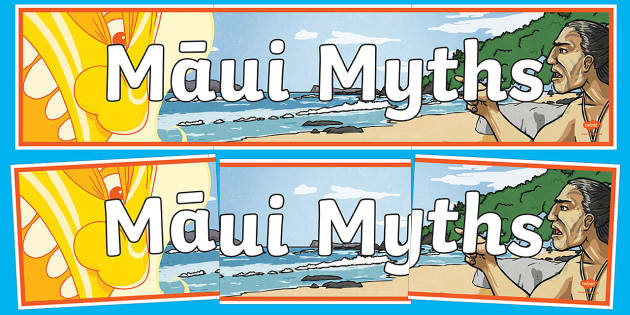 Maui Myths Display Banner