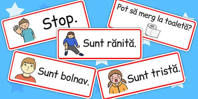 Ghid de Supravietuire pentru Copii, urgente pentru copii, Romanian