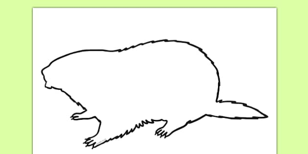 Groundhog Shadow Puppet Template - groundhog day, groundhog, tradition, celebration, shadow puppet