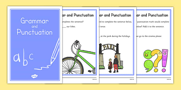 Year 2 Grammar and Punctuation Booklet - year 2, grammar, punctuation, booklet