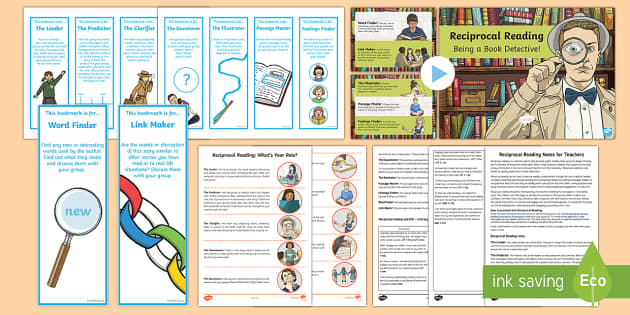 CfE Reciprocal Reading Resource Pack