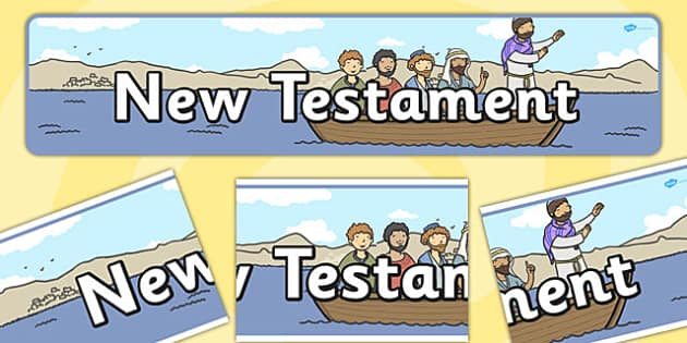 New Testament Display Banner - new testament, display banner