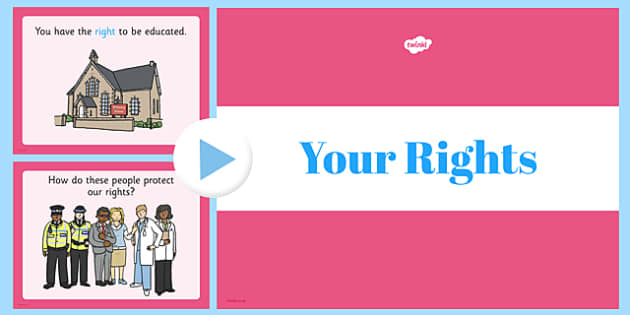 Your Rights PowerPoint - your rights, powerpoint, rights, childrens rights