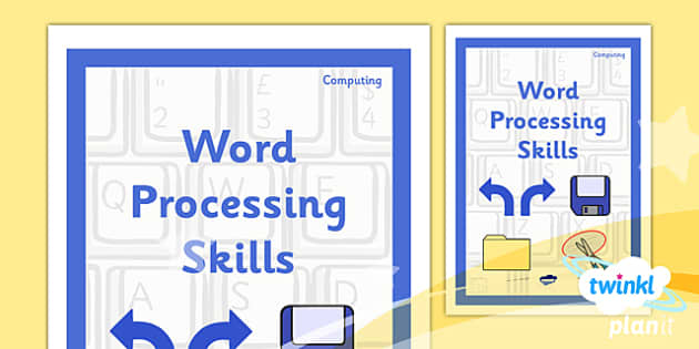 PlanIt - Computing Year 3 - Word Processing Skills Unit Book Cover - planit, book cover, computing, year 3, word processing skills