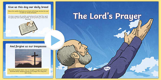 The Lord's Prayer Explained PowerPoint
