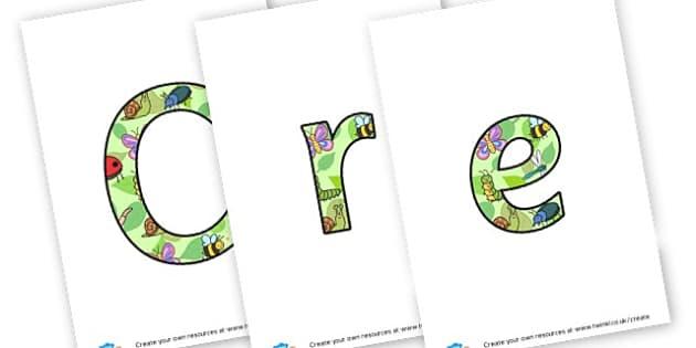 Creepy Crawlies Display - Minibeasts Display Primary Resources, minibeast, bugs, life cycles
