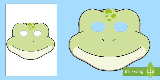 Frog Role Play Masks - frog, role play mask, role play