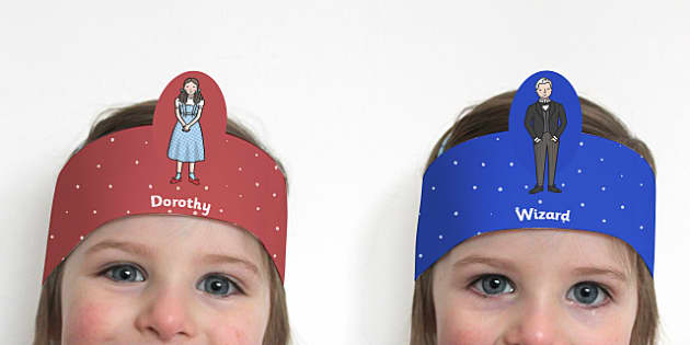 The Wizard of Oz Role Play Headbands - story, roleplay, stories