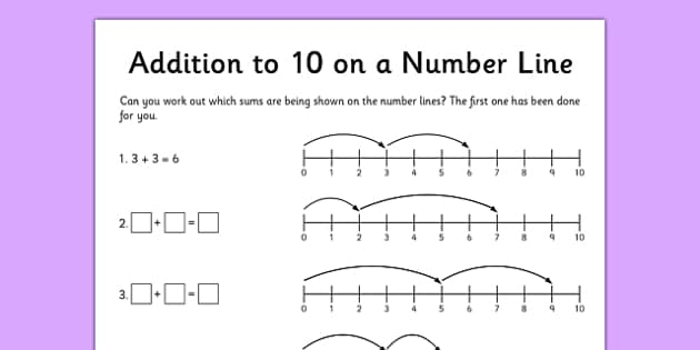 Addition to 10 Activity Sheet - addition, add, addition to 10, 10, activity, sheet, worksheet