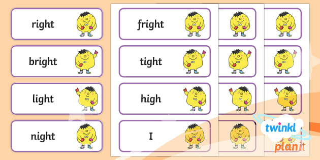 PlanIt English Year 1 Term 2A Spelling Word Cards - Spellings Year 1, Term 2A, word cards, spelling, ks1, writing, english