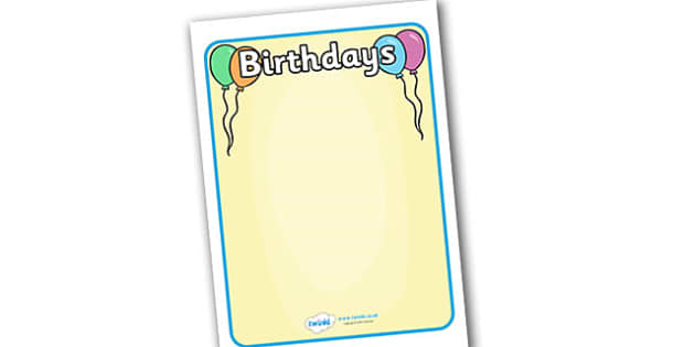 Birthday Display Posters - birthday display posters, birthday, celebration, party, happy birthday, festival, display, poster, sign