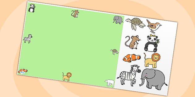 Animals Editable PowerPoint Background Template - animals, editable powerpoint, powerpoint, background template, themed powerpoint, animal themed