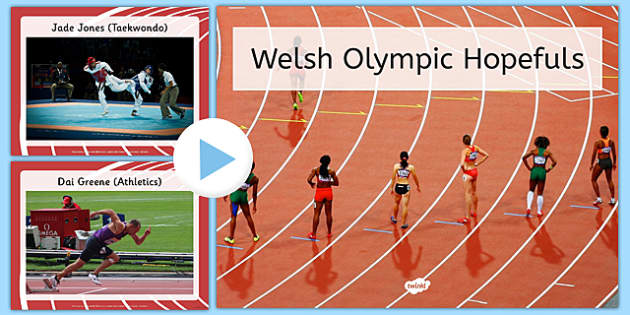 Welsh Olympic Hopefuls Photo PowerPoint - welsh, cymraeg, Rio Olympics, Photo Display Pack, olympic, games, wales, sports, pe, Welsh Faces