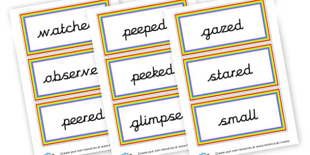 Alternative adjectives - KS2 Adjectives Primary Resources, Adjectives, Word Types, Words