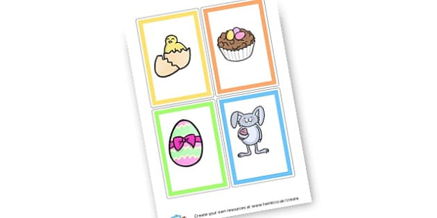 Easter Cards - display lettering - Easter Display Primary Resources, easter, display, banner, poster