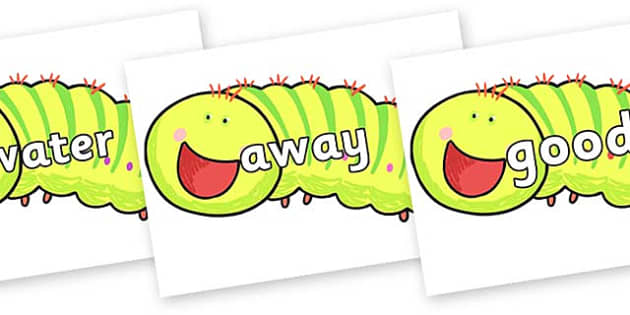 Next 200 Common Words on Crunching Munching Caterpillar to Support Teaching on The Crunching Munching Caterpillar - Next 200 Common Words on  - DfES Letters and Sounds, Letters and Sounds, Letters and sounds words, Common words, 200 common words