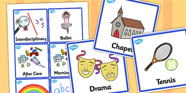 Editable Additional Visual Timetable Cards - SEN, editable, editable cards, Visual Timetable, editable, Daily Timetable, School Day, Daily Activities, Daily Routine, Foundation Stage