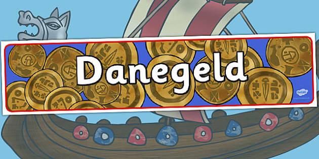Vikings Danegeld Display Banner - viking, danegeld, banner