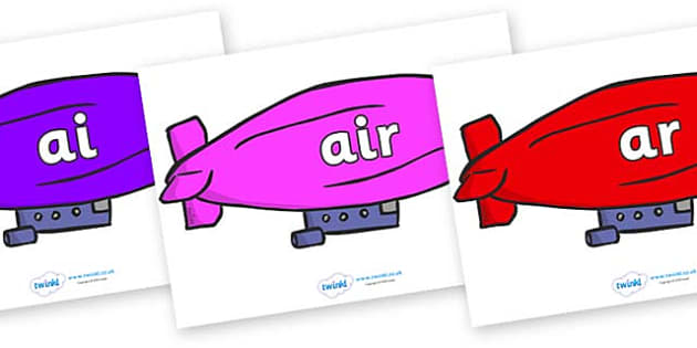 Phase 3 Phonemes on Air Bus - Phonemes, phoneme, Phase 3, Phase three, Foundation, Literacy, Letters and Sounds, DfES, display