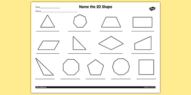 2d Shapes Worksheet apexwindowsdoors – 2d Shapes Worksheet