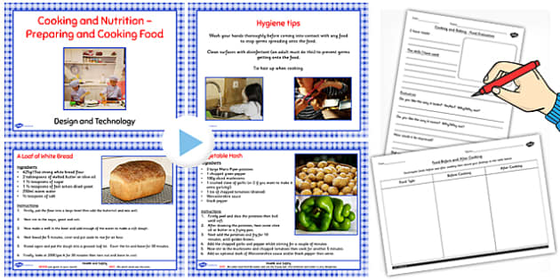Preparing and Cooking Savoury Dishes Lesson Teaching Pack - cook
