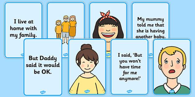 Social Story: New Sibling - social story, new sibling, social, story, new, sibling