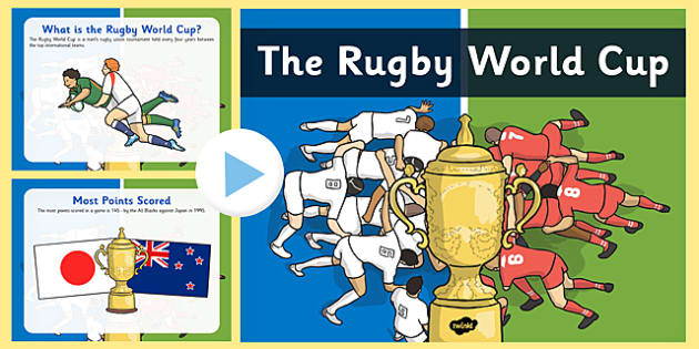 Rugby World Cup Information PowerPoint - rugby, world cup, powerpoint
