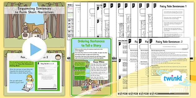 PlanIt Y1 SPaG Lesson Pack: Sequencing Sentences to Form Short Narratives - GPS, grammar, ordering, linking