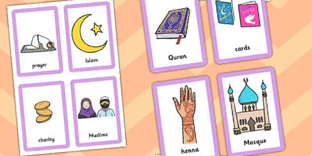 Eid Pairs Matching Game - match, games, activity, activities
