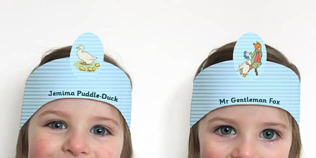 The Tale of Jemima Puddle-Duck Role Play Headband - jemima puddle-duck