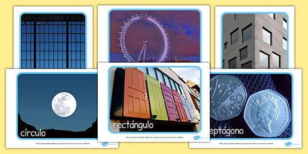 2D Shape Display Photos Spanish - spanish, 2d shape, display photos, display, photos, 2d, shape
