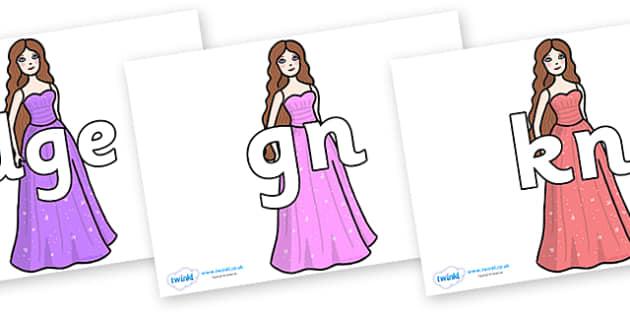 Silent Letters on Dolls - Silent Letters, silent letter, letter blend, consonant, consonants, digraph, trigraph, A-Z letters, literacy, alphabet, letters, alternative sounds