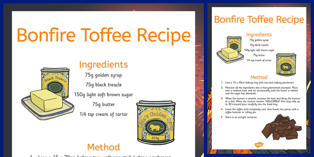 How To Make Bonfire Toffee Recipe - how, make, bonfire toffee, recipe, cook, food