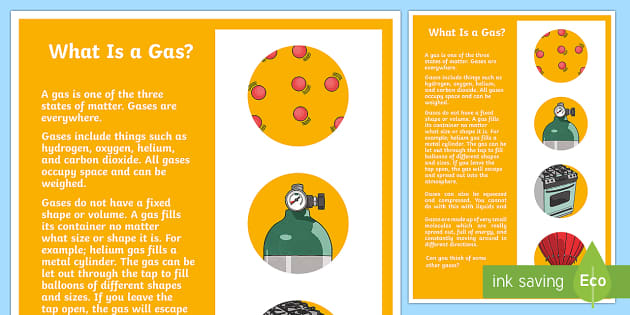 What is a Gas? A4 Display Poster - Australia Science, australian curriculum, science, what's the matter, solid, liquid, gas, solids li